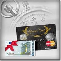 Startguthaben zur Prepaid MasterCard mit Kontofunktion: Der SupremaCard Schnellauflader Bonus für Neukunden
