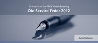 """""""Die Service-Feder 2012"""": Ausschreibung zum R+V-Journalistenpreis startet"""