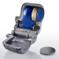 vela[clip] Dämmschale für Steigrohr-Hauswasserzähler