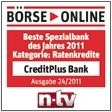 Günstiger Ratenkredit: CreditPlus Bank senkt Kredit-Zinsen