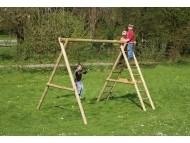 Spielturm, Kletterturm und Schaukel für den Garten