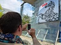 QR-Initiative Niedersachsen startet mit überdimensionalem Niedersachsenross im QR-Code-Design