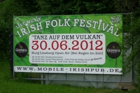 "Event: Irish Folk Festival ""Tanz auf dem Vulkan"""