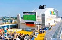 EM-Fußballfieber auf AIDA Kreuzfahrtschiffen