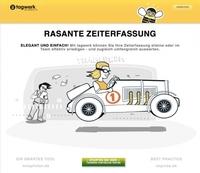 Pressemitteilung - tagwerk auf dem IKT Kongress Berlin - Rechnung online für Freelancer