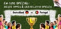 NUR ZUR EM: Auf den Sieger tippen und gratis Lotto spielen