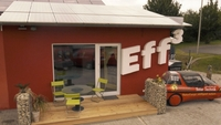 Das Haus der Zukunft heißt Eff3 Haus und steht in Weißenohe bei Nürnberg, an der B2!