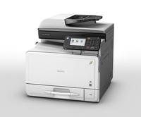 Leistung und Design verbunden:   neue A4-Farbmultifunktionsdrucker von Ricoh
