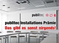 NEU: Installations-Prämie für AV Stumpfl Leinwände