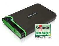 Transcend StoreJet 25M3 ist Computer Bild Testsieger