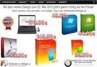 Windows 7 bereits ab 49EUR bei www.softwarenochbilliger.de