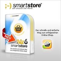 """Das neue Shopsystem """"SmartStore.biz 6"""" als Vollversion für kurze Zeit kostenlos"""