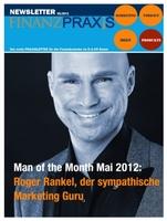 "Marketing-Guru Roger Rankel ist ""Man of the Month""."