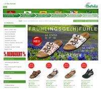 Neuer Online Shop für Schuhe, Sandalen, Clogs, Badesandalen etc