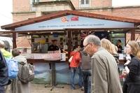 Neuseeland Lamm auf dem Internationalen Markt der Kieler Woche