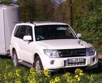 Zugfahrzeugtest auf Mit-Pferden-reisen: Mitsubishi Pajero Instyle