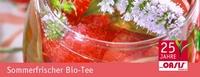 Biotee erfrischt im Sommer und hält kalorienarm munter