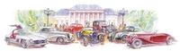 36. Oldtimer-Meeting Baden-Baden unter französischer Tricolore