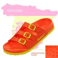 Betula Sandale in den Farben Spaniens