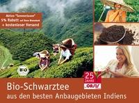 Bio-Schwarztee aus den besten Anbaugebieten Indiens!