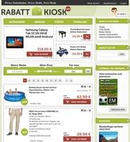Rabatt-Kiosk.de startet mit 40% und mehr Rabatt auf Markenprodukte