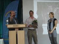 Jan Peifer und Paul Watson bekamen MUT-Medaille