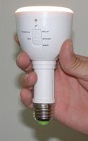 Intelligente LED-Taschenlampe mit Notschaltung