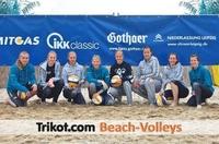 SachsenBeach: Trikot.com Beach-Volleys sichern sich Platz 1