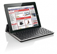 GeneralKeys Bluetooth-Tastatur fuer Tablet-PCs von Apple, Samsung, HP