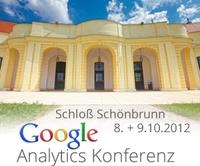 Google Analytics Konferenz am 8. + 9. Oktober 2012 in Wien: Treffpunkt für Webanalyse Interessierte