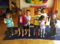 showimage Kindergerechte Bewegung mit der goFit-Matte - Kindergarten setzt auf wohltuende Wirkung