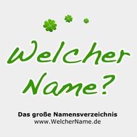Namensverzeichnis WelcherName.de ist gestartet!