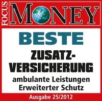 """Krankenzusatzversicherung: CSS.flexi von CSS  """"Beste Zusatzversicherung ambulante Tarife"""" im Focus-Money Test"""
