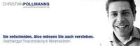 Finanzberatung in Osnabrück: unabhängig und fair bei Pollmanns Finanzen