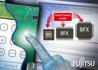 Fujitsu erweitert 8-Bit-Mikrocontroller-Familie um integrierte kapazitive Touchsensor- und Controllerfunktionalität