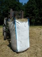 Heu-Transport und -Lagerung: »Heu Big Bag« ist neuer praktischer Helfer