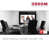 """DEKOM AG launcht """"kleinen Bruder"""" ihres designprämierten Videokonferenz-Boards"""