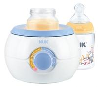 Weltneuheit von NUK  Innovative Licht-Technologie für Babys warme Mahlzeiten: Der NUK Thermo Light Babykostwärmer