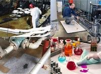 Ölbindemittel und Bindevliese für Öle und andere Flüssigkeiten