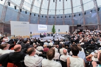 """Die Berliner Eventagentur FEEL&RED GmbH organisierte in Folge den Tag der Immobilienwirtschaft"""" des ZIA Zentralen Immobilien Ausschuss e.V.."""