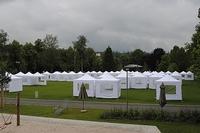 Großeinsatz für Main-Zelt: 70 Zelte für die Landesgartenschau Nagold