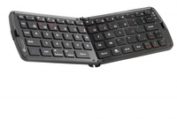 GeneralKeys Faltbare Bluetooth-Tastatur fuer PC, Tablet & Smartphone