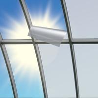 Spezielle neue Sonnenschutzfolie für Kunststoffverglasungen bietet hohen Wärmeschutz.