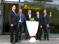 Erste Geschäftsstelle des Europäisches Goldkontor EGK in Wiesbaden eröffnet