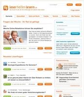 """NizeNetworks startet Ratgeber-Portal """"Leser-helfen-Lesern"""" für die Zielgruppe 50+"""