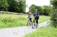 Radfahren ohne Mühen
