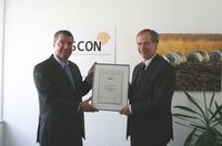 Bonner ASCON erhält Qualitätszertifikat   Entsorgungsfachbetrieb
