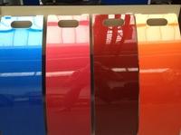 Spritzen,  Streichen oder Rollen:    Jedem das Seine - jetzt in jeder Farbe!