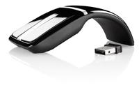 GeneralKeys Optische Mini-Funkmaus 2,4 GHz mit Touch-Scrollfeld