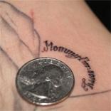 Die Mommy I´m Sorry Tattoo Facebook Präsenz